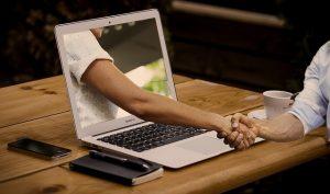 kennismaking via je blogs om vertrouwen te verkrijgen